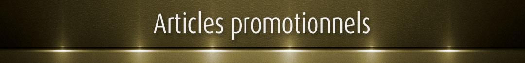 Articles promotionnels Trophées Fortin
