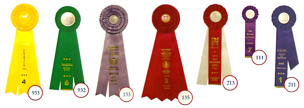 Rosettes Trophées Fortin